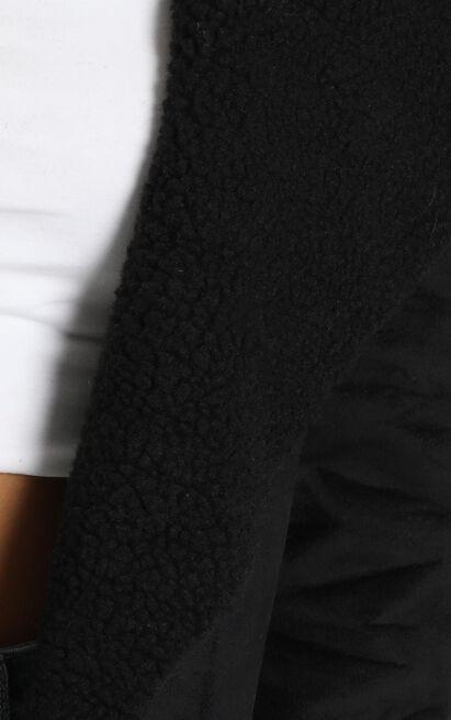 Mornings End Coat in black - 20 (XXXXL), Black, hi-res image number null