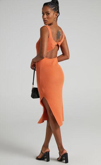 Jamika Dress in Orange