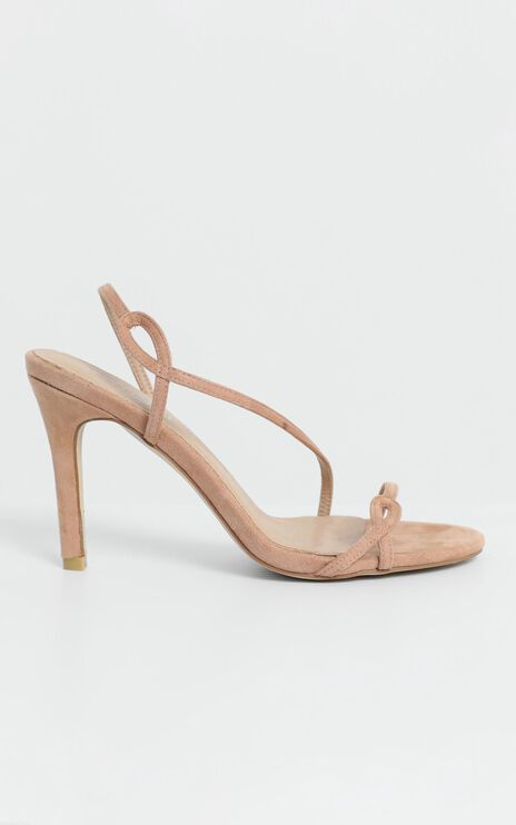 Therapy - Priya Heels in Blush Suedette