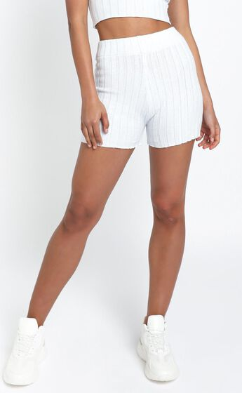 Vera Knit Shorts in Blue
