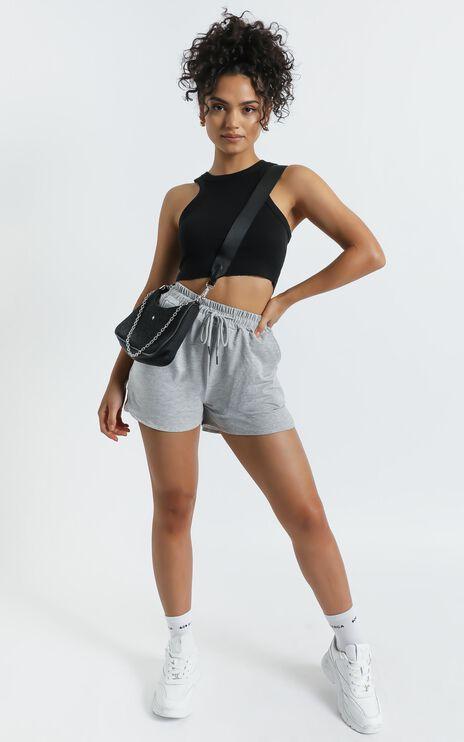 Alithea Shorts in Grey Marle