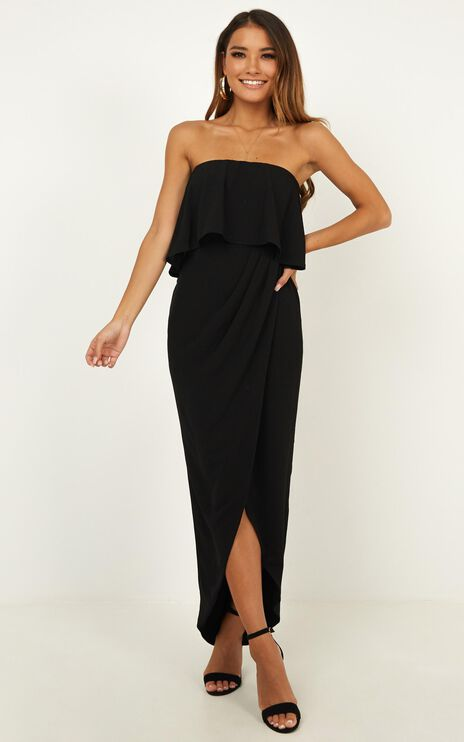 With Flying Colours Dress In Black