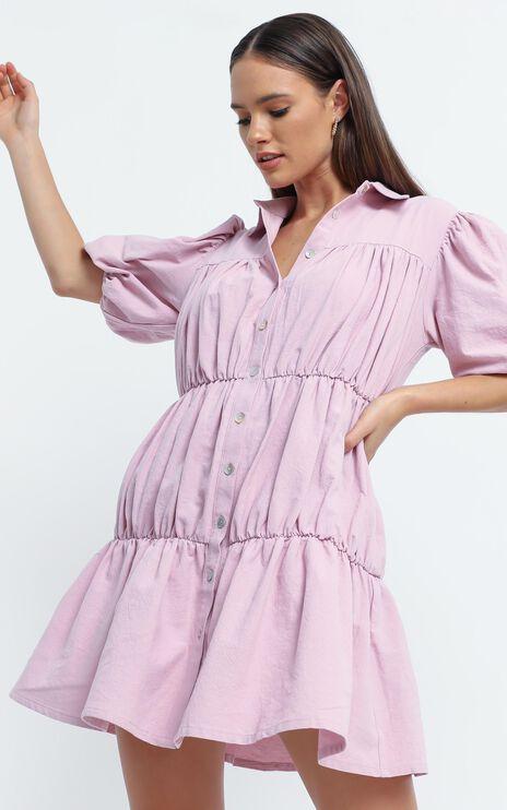 Bijou Dress in Pink
