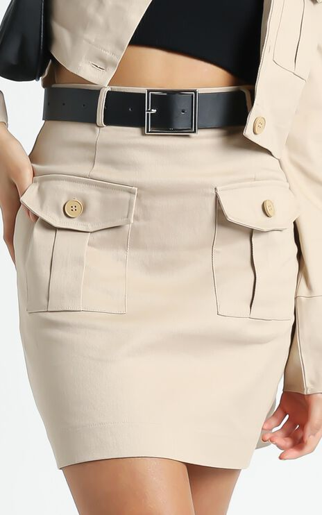 Armaras Skirt in Beige