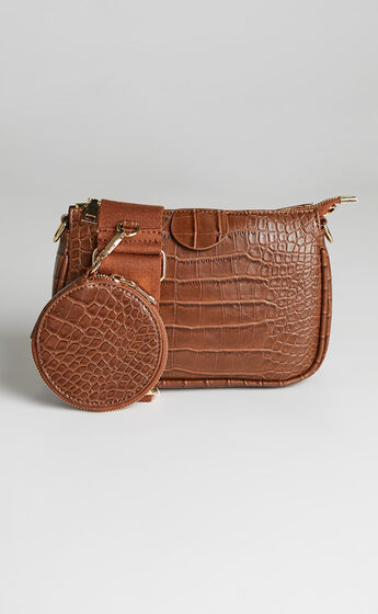 Mikella Bag in Chocolate