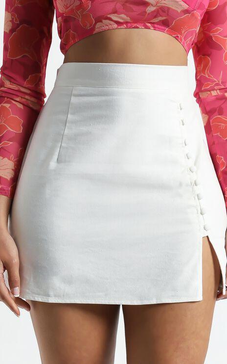 Zora Skirt in White