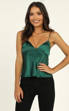 Flawless Top In Emerald