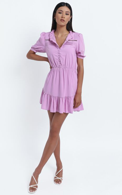Mahalia Dress in Lilac