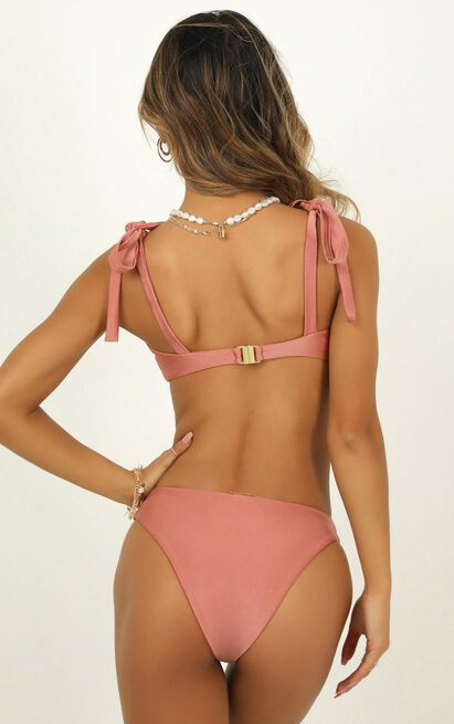 Lilah bikini bottoms in rose metallic - 20 (XXXXL), Blush, hi-res image number null