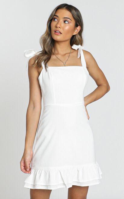 Coastal Getaway Dress in white - 20 (XXXXL), White, hi-res image number null