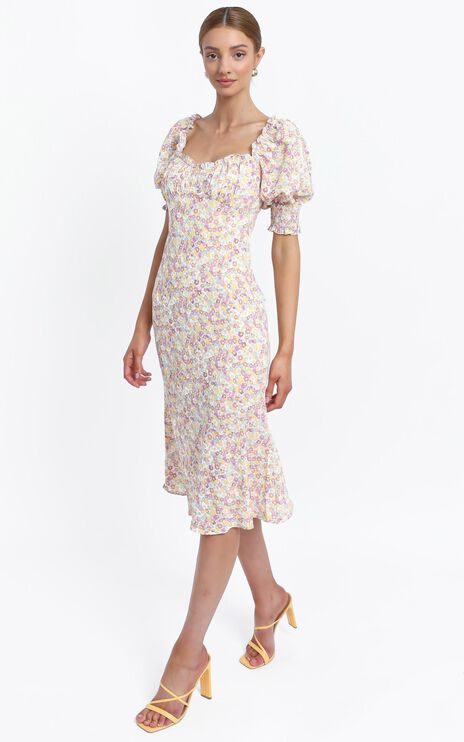 Missouri Dress in Lilac Floral