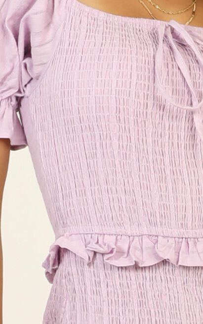 Another Dreamer Pleated Dress in lilac - 14 (XL), Purple, hi-res image number null