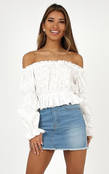 Gonna Be Alright Top In White