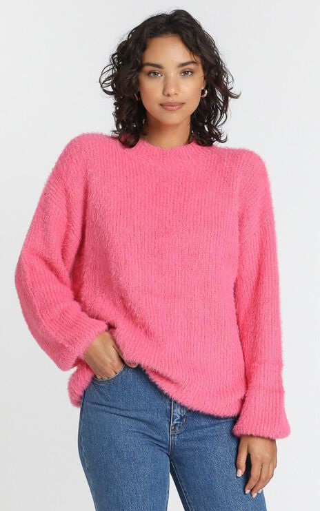 Elle Woods Knit Jumper in Candyfloss
