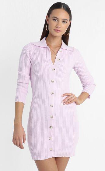 Albury Dress in Lilac