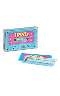 1990s Music Trivia Tape Quiz