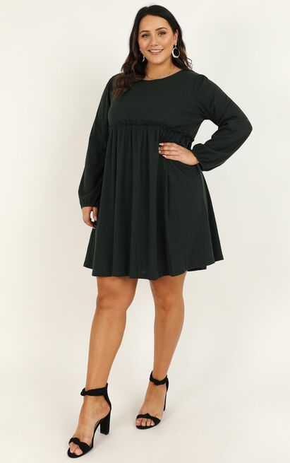 Giving Thanks Dress in emerald - 20 (XXXXL), Green, hi-res image number null