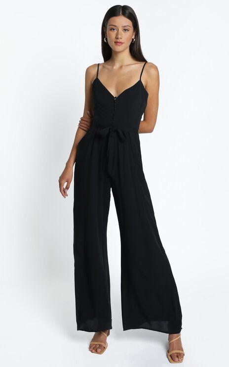 Porsha Jumpsuit in Black