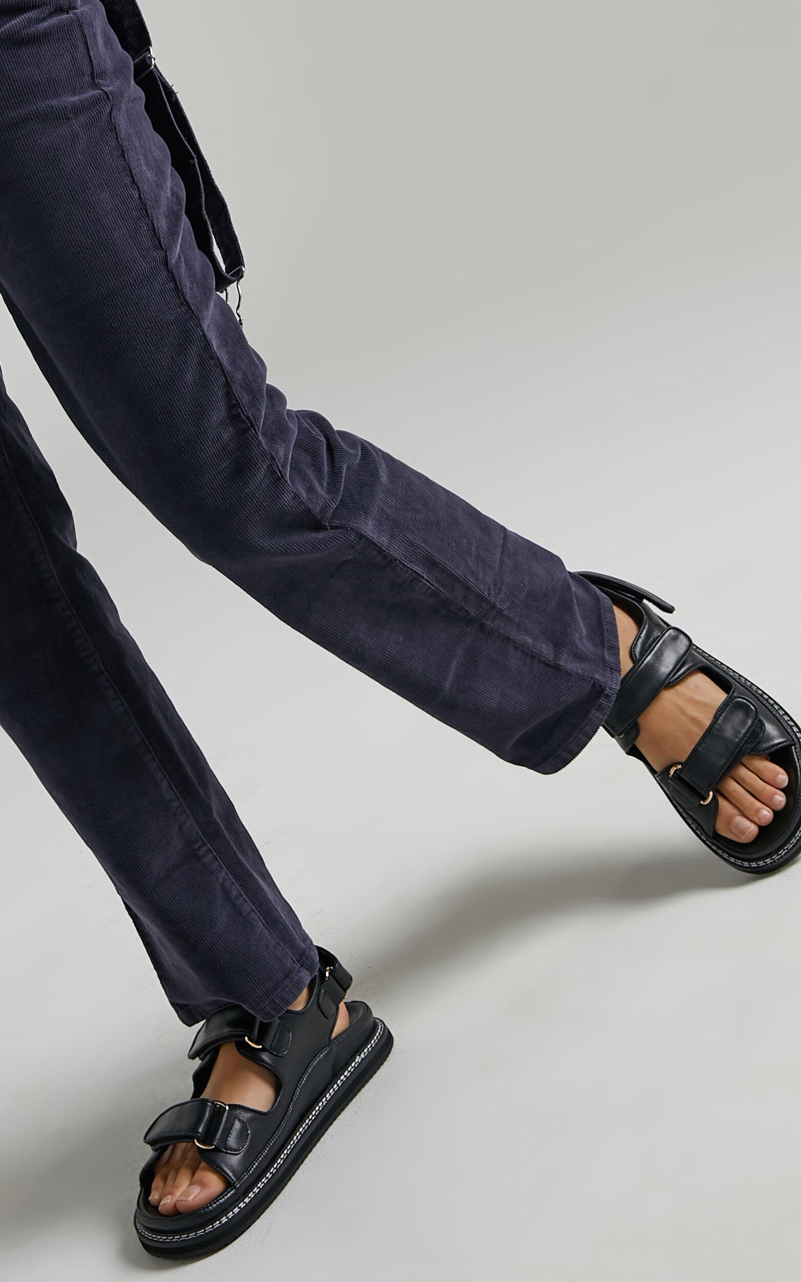 Alias Mae - Pascoe Sandals in Black Leather - 10.5, BLK1, super-hi-res image number null