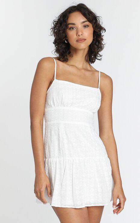 Lotte Dress in White