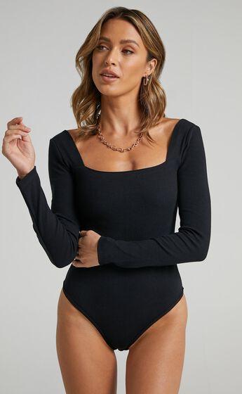 Right Kind Of Love Bodysuit In Black