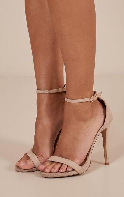 Billini - Dimity heels in nude micro - 10, Neutral, hi-res image number null