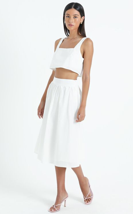 Razzoli Two Piece Set in White