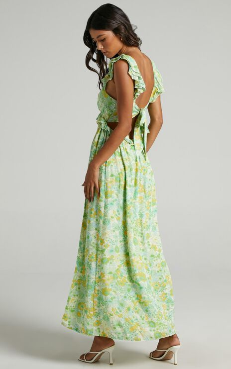 Murcia Dress in Fresh Floral