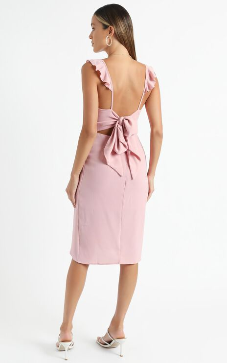 Sangria Dress in Blush