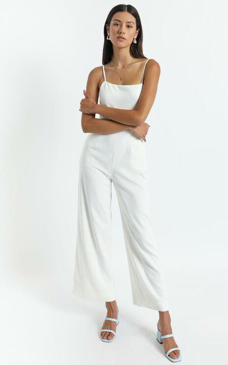 Camari Jumpsuit in White