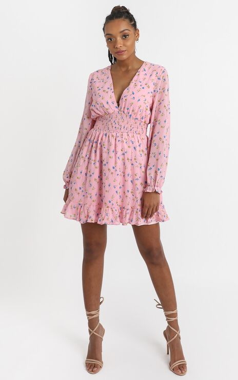 Pretty As You Dress in Pink Floral