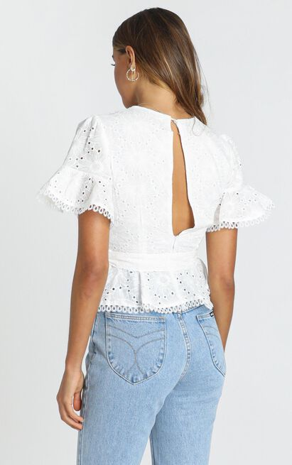 Like Minded Top in white - 12 (L), White, hi-res image number null