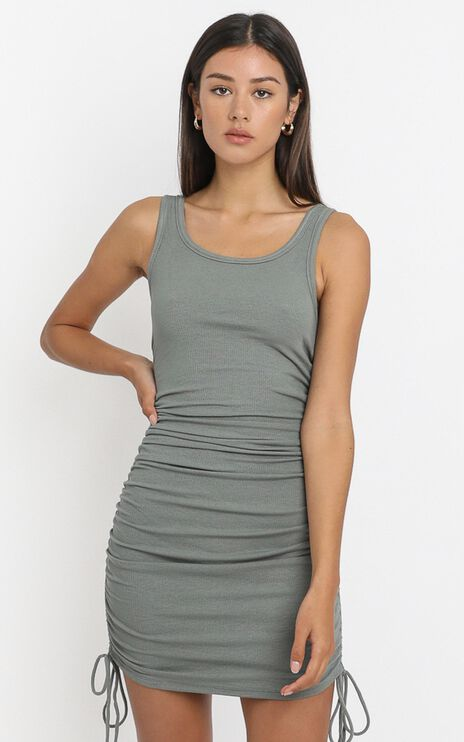 Kailey Dress in Khaki