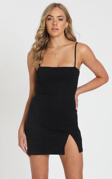 Island Babe Dress in Black