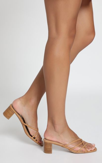 Billini - Zalia Heels in camel/natural - 5, Brown, hi-res image number null