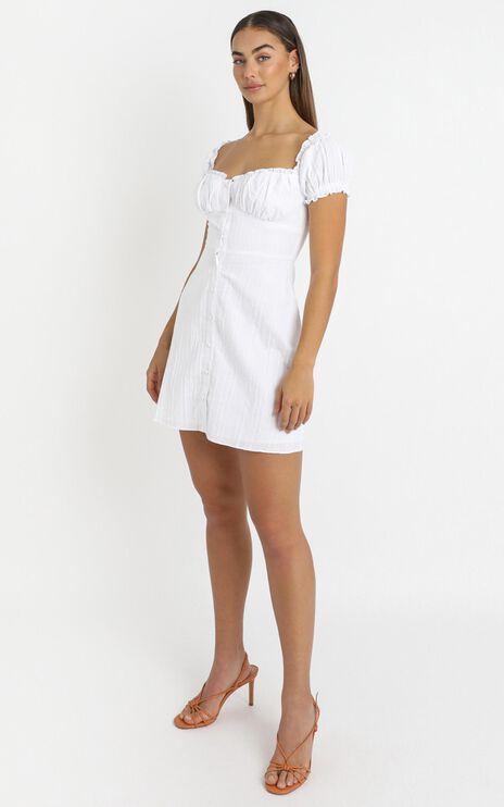 Reflection Of Spirit Dress In White