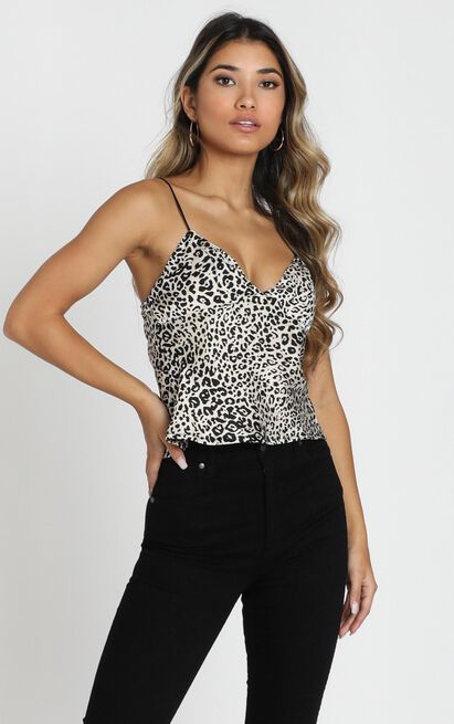 Drive You Wild Top in leopard - 6 (XS), Black, hi-res image number null