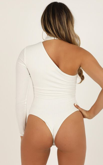With My Crew Bodysuit In white - 20 (XXXXL), White, hi-res image number null