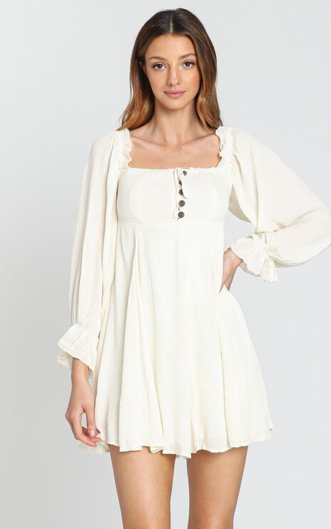 Gypsy Soul Dress in Cream