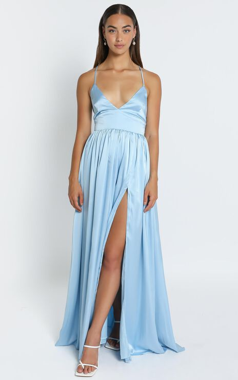 I Want The World To Know Dress In Light Blue