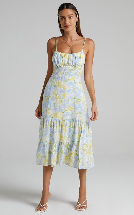 Monaco Dress in Summer Petals