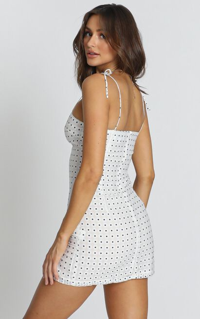 Messages Of Hope dress in white floral - 12 (L), White, hi-res image number null