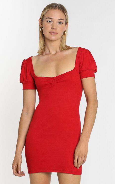 Willa Mini Dress in Wine