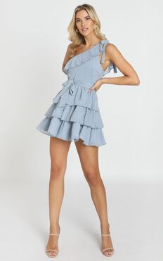 Darling I Am A Daydream Dress In Powder Blue