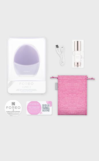 Foreo - Luna 3 for Sensitive Skin in Purple