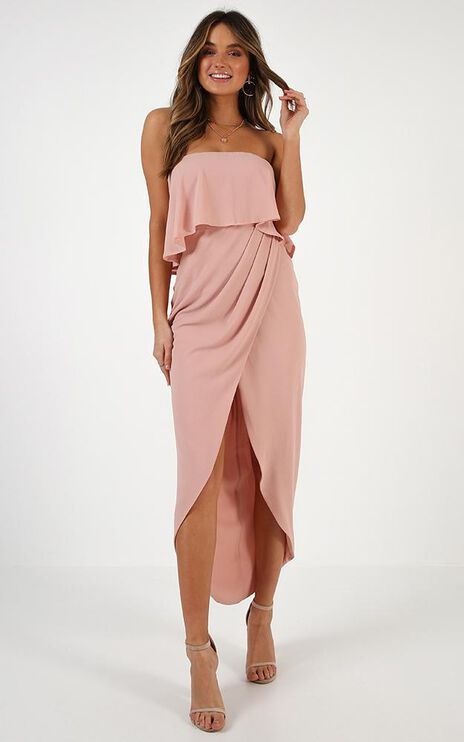 With Flying Colours Dress In Nude