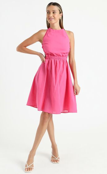 Mayne Dress in Pink