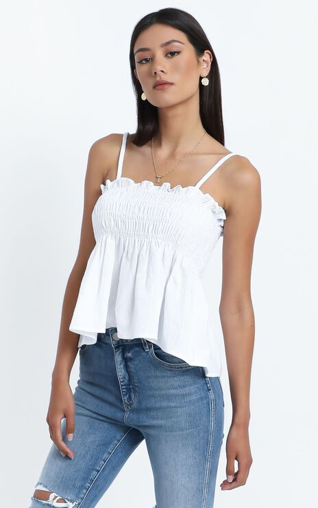 Lovers Top in White