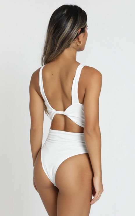 Twisted Tales Bodysuit in White