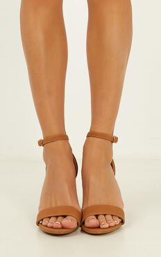 Billini - Aurella Heels In Tan Nubuck